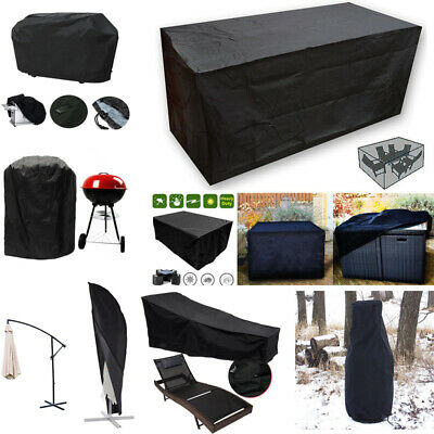 Waterproof Garden Patio BBQ Furniture Cover Rattan Table Chair Set Cube Outdoor
