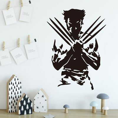 Super Hero Wall Stickers Wall Decals For Bedroom Kids Room Decoration