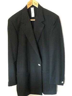 Gianni Versace Men's Dinner Jacket /Tuxedo /Smoking Size 48 Medium 1st Line 1996
