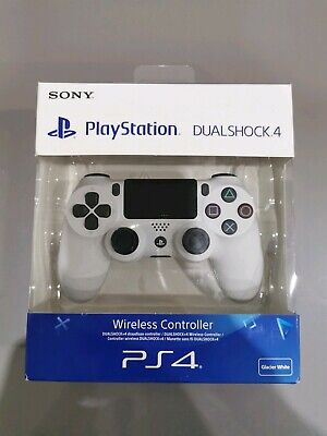 PS4 DualShock 4 Controller Wave Blue  V2 BRAND NEW SEALED (White )Sony UK