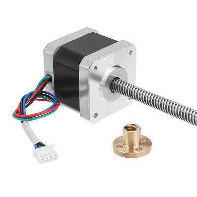 Machifit Nema17 42mm Stepper Motor with T8 380mm Lead Screw for CNC Engraving Ma
