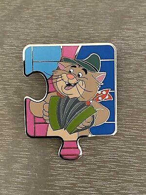 Disney Aristocats Character Connection Puzzle Mystery Billy Boss LE Pin