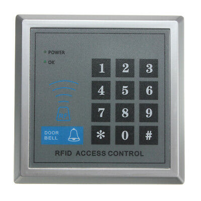 MJPT020 Electric RFID Access Control ID Password Safty Entry System Door Lock Ma