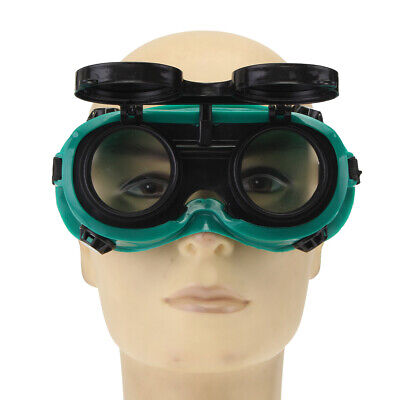 Industrial Welding Goggles Head Clamshell Protection Anti-light Radiation Round