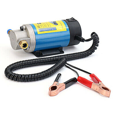 Electric Portable DC 12V Transfer Pump Extractor Suction Oil Fluid Water 100W 1-