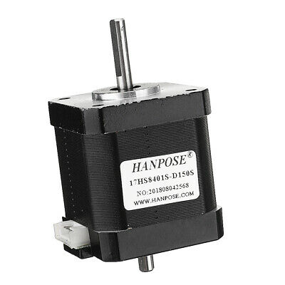 HANPOSE 17HS8401S-D150S Double Shaft 48mm Nema 17 Stepper Motor 42 Motor 42BYGH