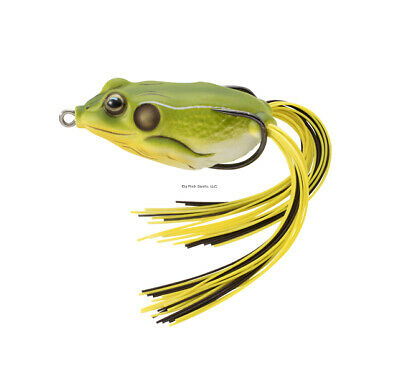 Live Target Frog Hollow Body Topwater Lure FGH Pick Any Color or Size Koppers