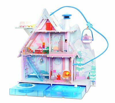 LOL Surprise Winter Disco 6 Rooms 3 Stories Chalet Doll House