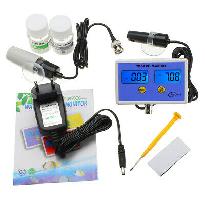 WS-pH2712 Online pH/TDS Monitor PH Rang 0.00~14.00 TDS Range 0.00~1999ppm PH Met