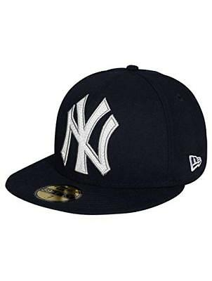 New Era Baseball Cap MLB Ny York Yankees 59Fifty Fitted Blue & in Original Box