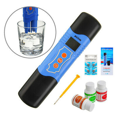 Wattson WS-EC9988 PH/TDS/Temp 3 In 1 Pen Type Meter Tester