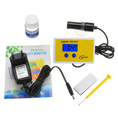 Wattson WS-SA2707 0.1ppt Resolution Online Salinity Monitor Water Quality Online