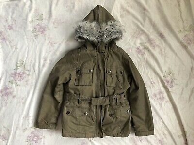 ZARA Kids Mädchen Winter Jacke Kapuze Gr.116 5-6 years girls winter jacket hood