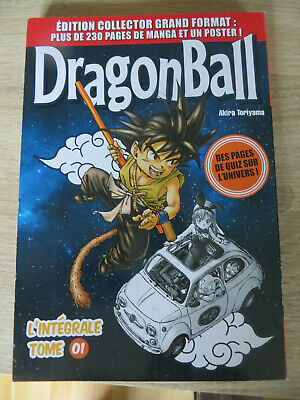 manga dragon ball édition collector grand format n°1 ,occasion