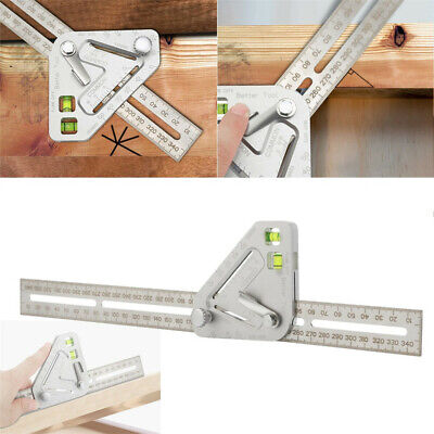 Multi-function Woodworking Triangle Ruler Angle Ruler Revolutionary Carpentry To