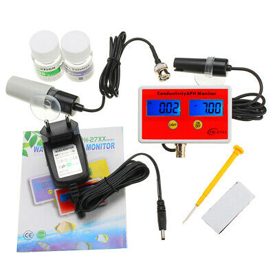 PH-2791 PH/EC 2-in-1 Detector Water Quality Online Analyzer Resolution 0.01pH 2%