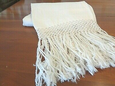 Antique 100% Linen bath towel..Hand Loomed  really nice NEW