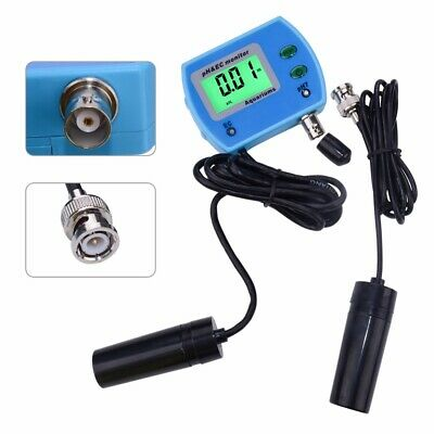 2 In 1 PH EC Meter Multi-parameter Water Quality Monitor Online PH EC Tester Mon