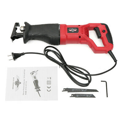 220V 750W Electric Reciprocating Saw Sabre Cutting Woodworking Pruning Saw