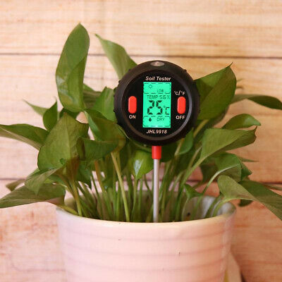5 in 1 Soil Tester PH Water Moisture Meter Garden Plants Flowers Moist Tester Wa