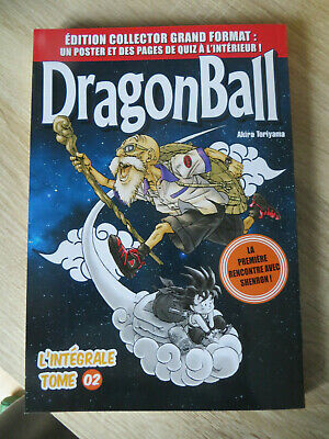 manga dragon ball édition collector grand format n°2 ,occasion