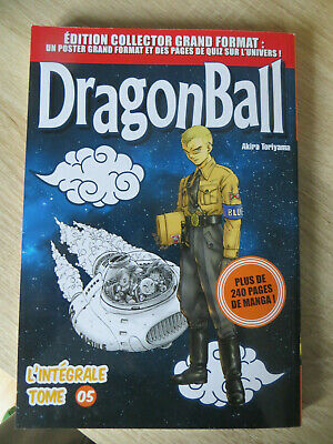 manga dragon ball édition collector grand format n°5 ,occasion