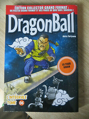 manga dragon ball édition collector grand format n°6 ,occasion