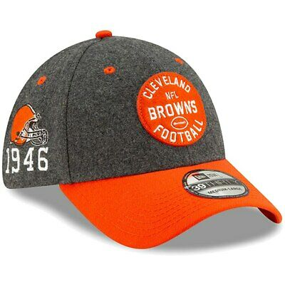 New Era 2019 Men's Cleveland Browns Sideline Home On Field 39Thirty Hat Cap NFL