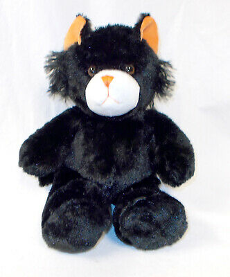 Unstuffed Black Cat Kitty Plush Build Stuff Your Own Animal NeW