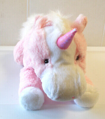 Unstuffed Unicorn Pink White Build Stuff Your Own Animal NeW