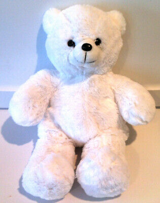 Unstuffed White Bear Plush Build Stuff Your Own Teddy Bear NeW
