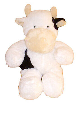 Unstuffed Cow Black White Build Stuff Your Own Animal NeW