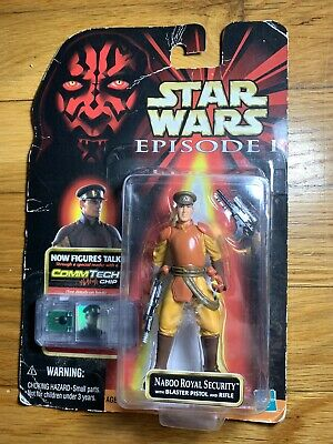 Hasbro Star Wars: Episode 1 Naboo Royal Security Guard Action Figure