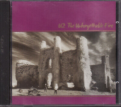 The Unforgettable Fire by U2 (CD, 1984, Isand) Japan Press