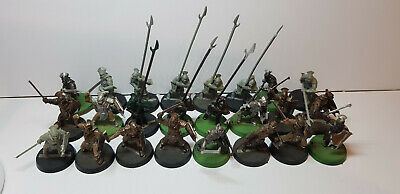 24x Uruk-Hai Warriors part painted Lord of the Rings Middle-Earth SBG The Hobbit