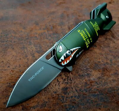 Da Bomb Folding Pocket Knife - Spring Assisted Open, Quality All Metal with Clip