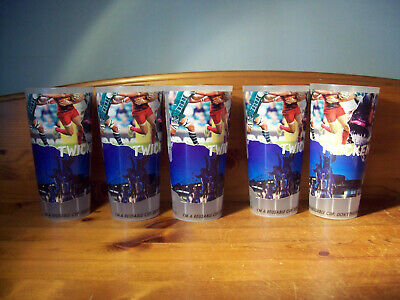5 Off Twickenham England Rugby Reusable Plastic Pint Cups/Glasses Version A