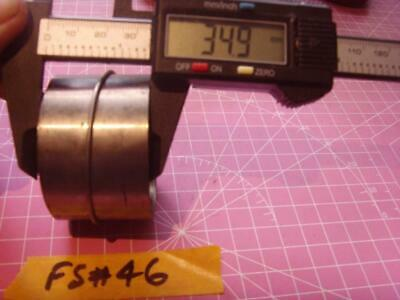 FS#46 FUSEE MOVEMENT CLOCK MAIN SPRING  / mainspring approx depth 34mm