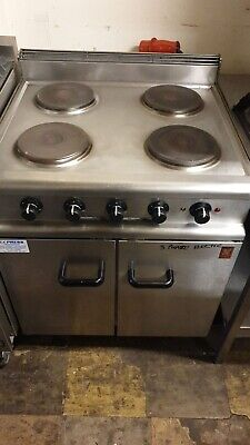 Falcon Electric Cooker 4 Ring Heavy Duty  Lincat Parry Bliye Seal Over £3K New