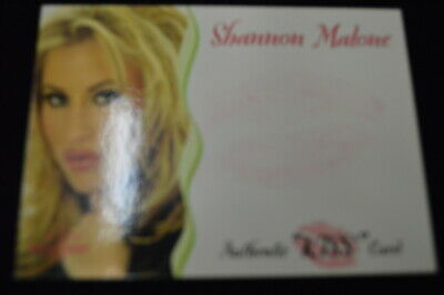 2003 Bench Warmer Gold Kiss #NNO Shannon Malone ZWB 1413