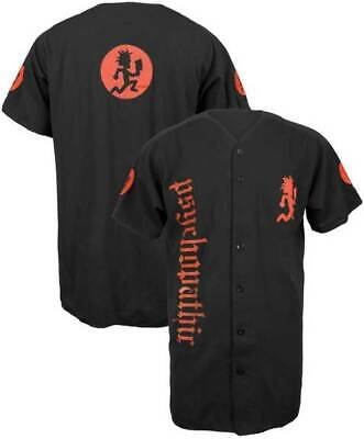 Brand New Men's ICP Insane Clown Posse Psychopathic Official Baseball Jersey M