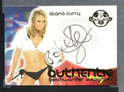 2006 Bench Warmer World Cup Soccer Autograph #7 Alana Curry ZWB 1506