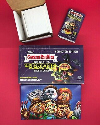 2019 GARBAGE PAIL KIDS REVENGE OF OH COMPLETE  200-CARD SET With Box and Wrapper