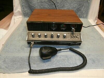 Cobra 89Xlr 40 Channel Cb Radio Base Station With Microphone Tested Working