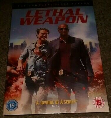 Lethal Weapon: The Complete First Season DVD (2017) *Brand New & Factory Sealed