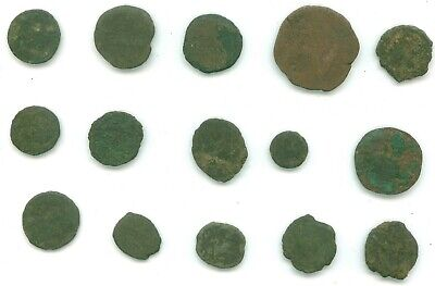 15 Ancient Coins Some Roman Coins Lot 12
