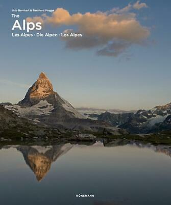The Alps by Udo Bernhart (English) Hardcover Book Free Shipping!