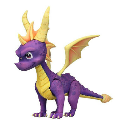 Spyro the Dragon 7-inch Tall High Quality PVC Made Stylized Action Figure