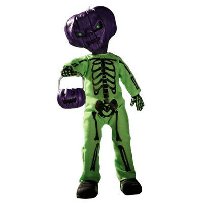 Living Dead Dolls Jack O'Lantern (Purple/Green) Scary Halloween Decor Detailed