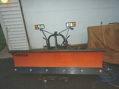 """Curtis Sno-Pro 3000 Snow Plow 7'6"""" Poly Plow,Used,Just Plow"""
